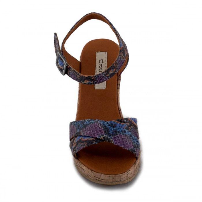 Mikobra Vegane Sandaletten kork damen