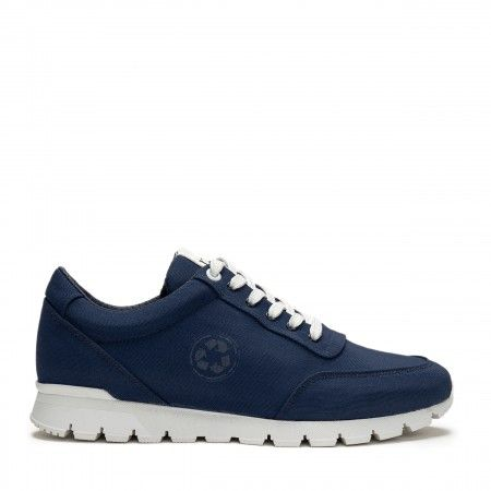 Nilo Blue Vegan Sneakers