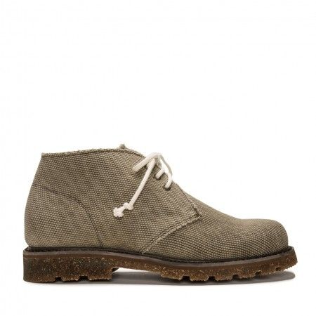 Peta Green Organic Cotton Vegan Boot