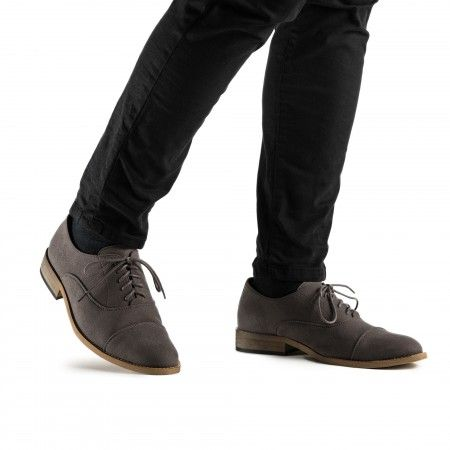 Oliver Grey Vegan Shoes
