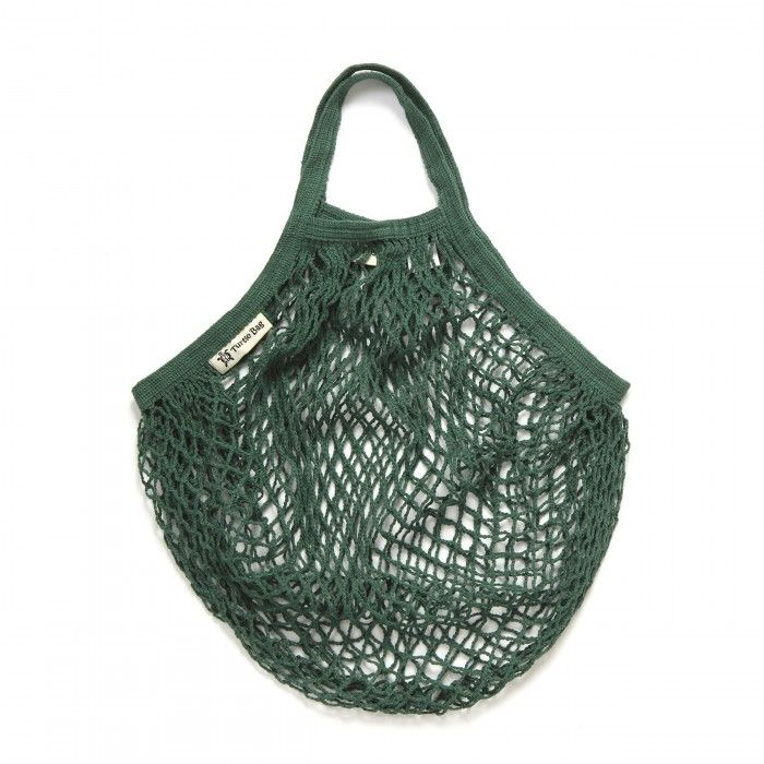 Turtle Bag Green Bolso verde orgánico y sostenible