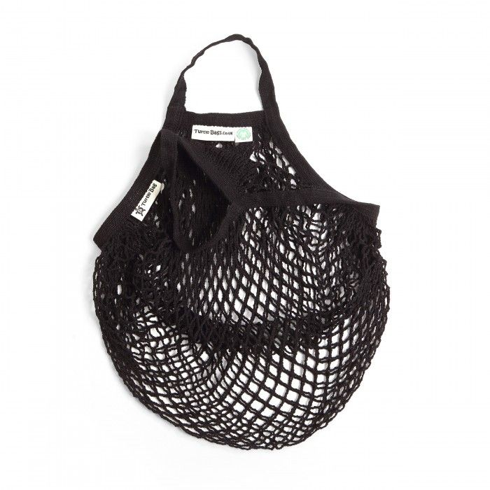 Turtle Bag Black Organic and Sustainable