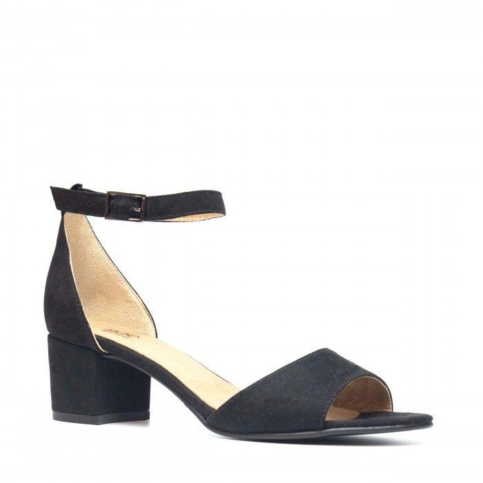 Cora Black Vegan Sandal