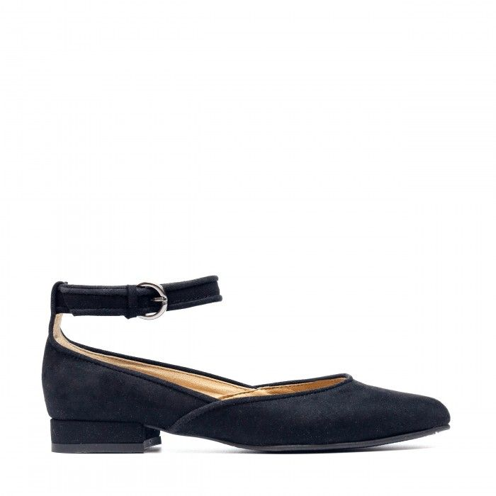 Leen Black Vegan Shoes