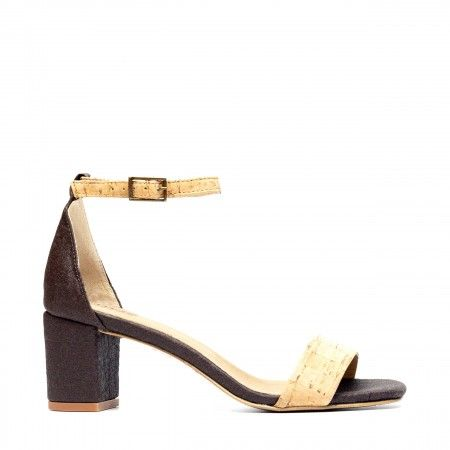 Margot Pinatex Vegane Sandalen