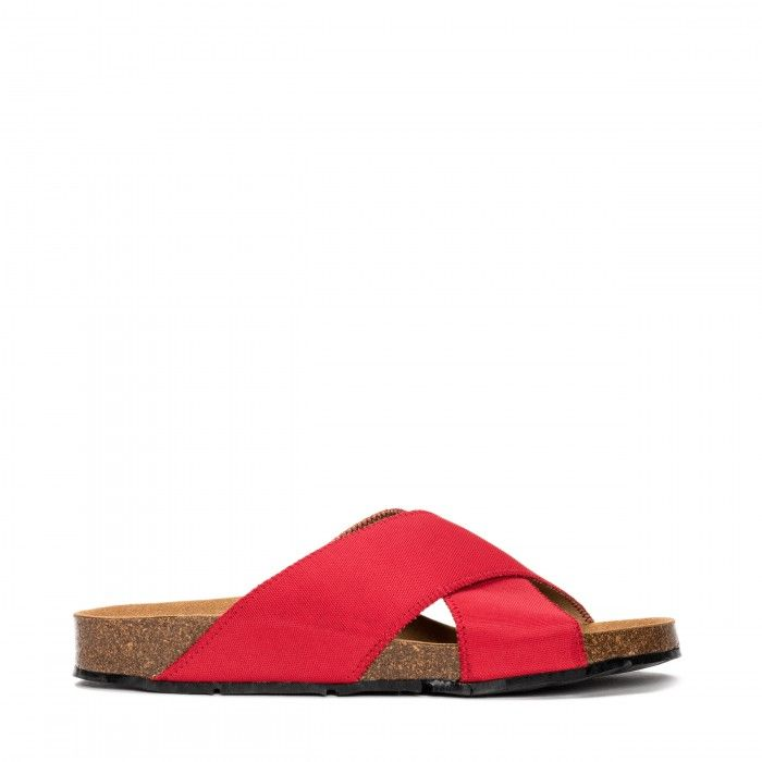 Bali red criss cross
