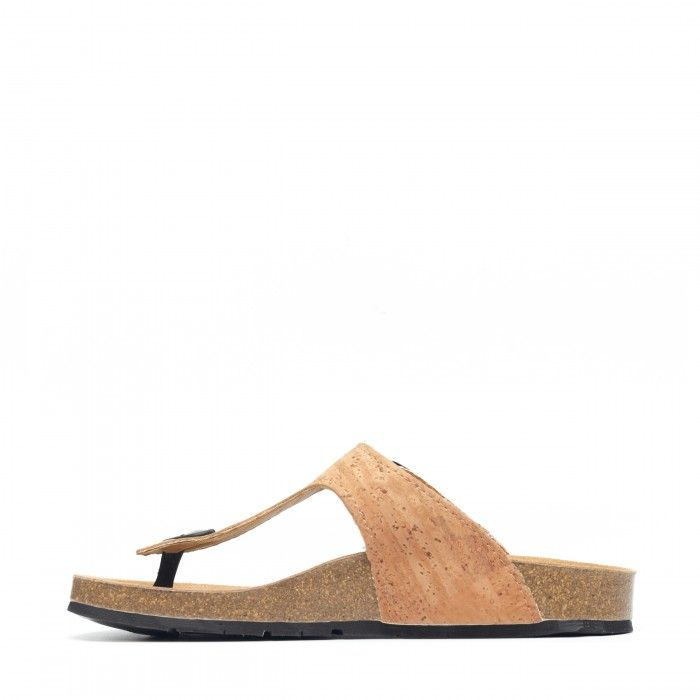 kos Cork Vegan Sandals