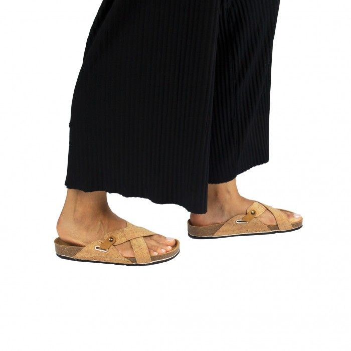 Paxos Cork Vegan Sandal
