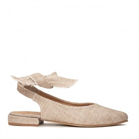 Beth Beige Organic Cotton