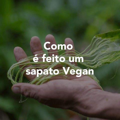 Como é feito um Sapato Vegan