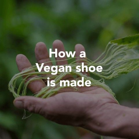 How a Vegan Shoe is Made