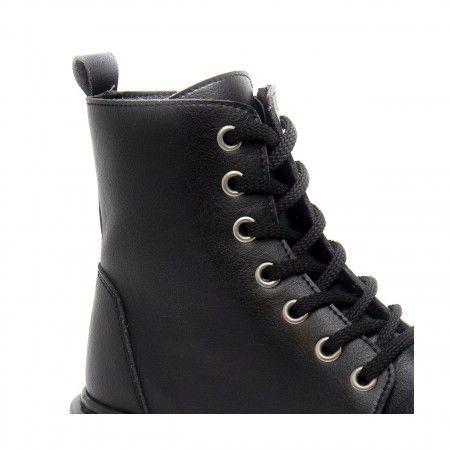 Harley Black Vegan Boots