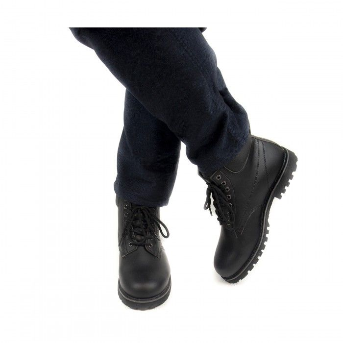 Atka Black Vegan Boots