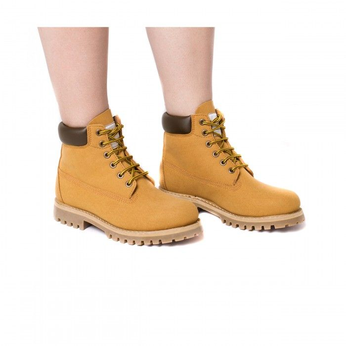 Etna Camel Vegan Boots