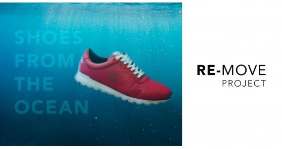 RE-MOVE Project – Shoes from the Ocean
