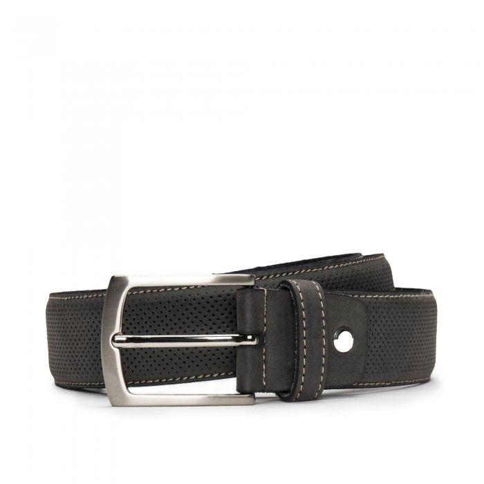 Canet Grey Cinturón vegano de Microfibra