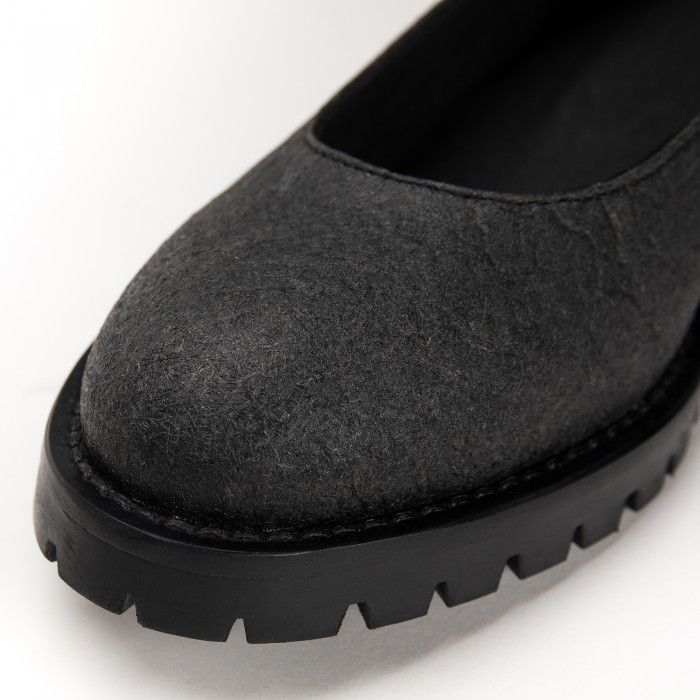 Lili Piñatex Black Sapatos vegan