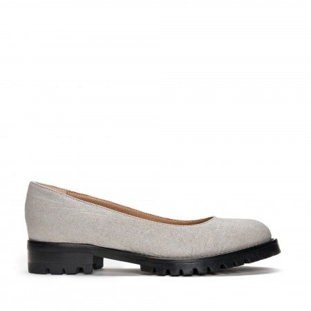 Lili Piñatex Grey Vegan Shoes