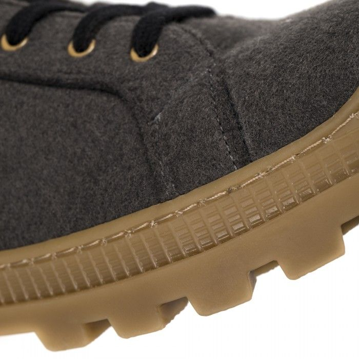 Noah Grey Recycled PET botas zapatilla veganas