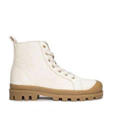 Noah Piñatex White bottes chaussures de sport véganes