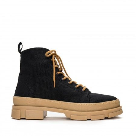 Maxi Organic Cotton vegan boots