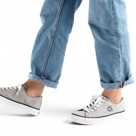 Reclaim Grey - vegane, graue Sneakers