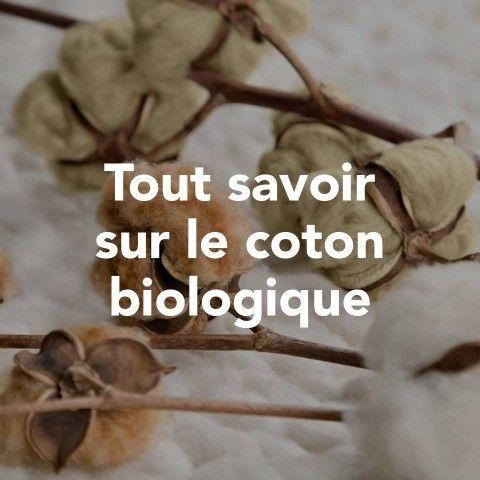 Tout savoir sur le coton biologique