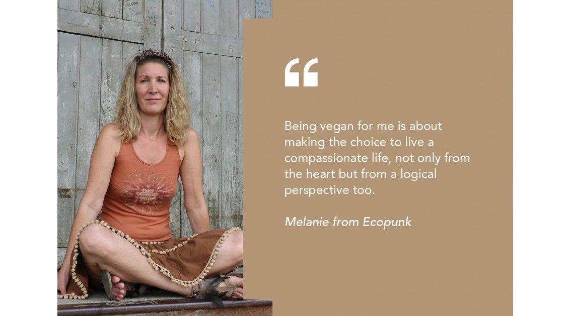 Vegan Choices of Melanie
