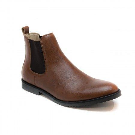 Mesa Brown Vegan Boots