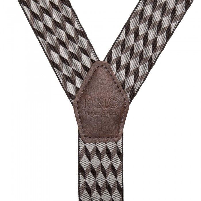 Hugo elastic vegan braces/suspenders