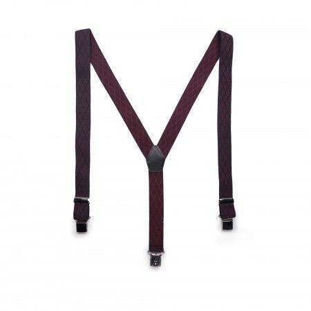 Theo elastic vegan braces/suspenders