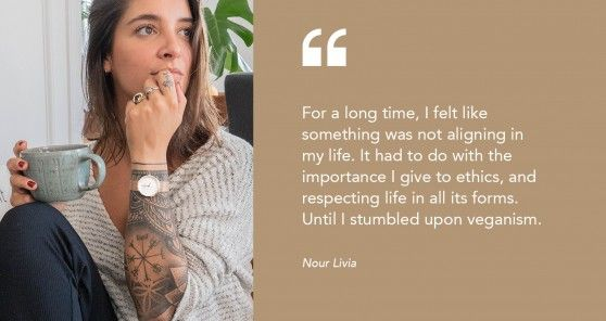 Vegan Choices of Nour Livia