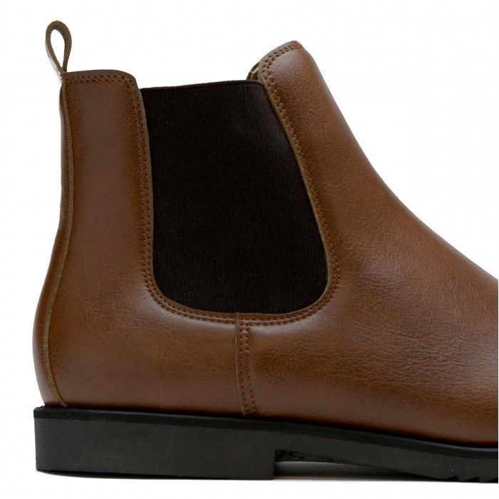 Mesa Brown Vegan Boots