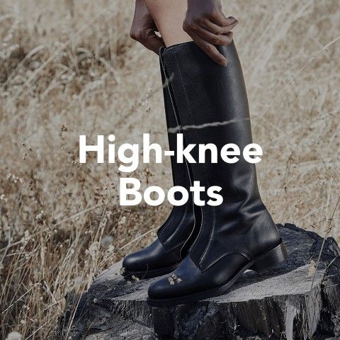 Vegan shoes - High-knee boots