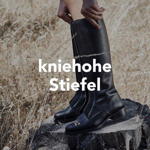 Vegane Schuhe - kniehohe stiefel