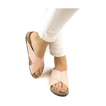 Re Car Pink Recycled PET Vegan Sandals