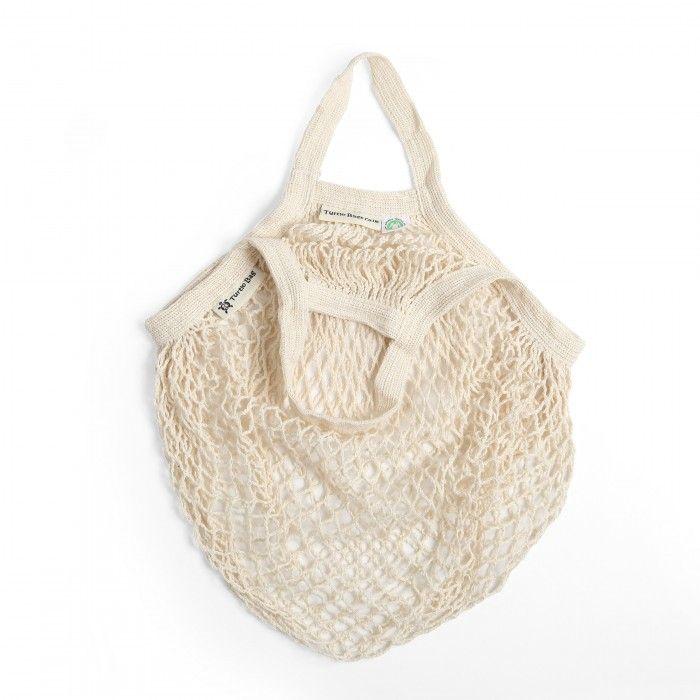 Turtle Bag Beige Bio-Baumwolle