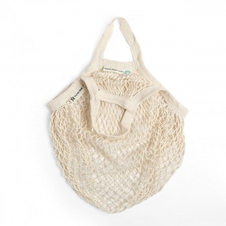 Turtle Bag Beige Organic Cotton