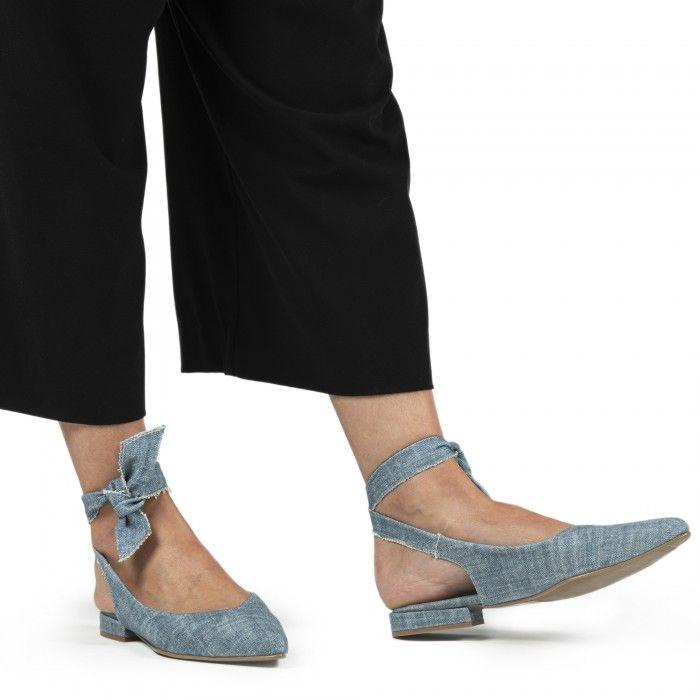 Beth Bleu Vegane Chaussures