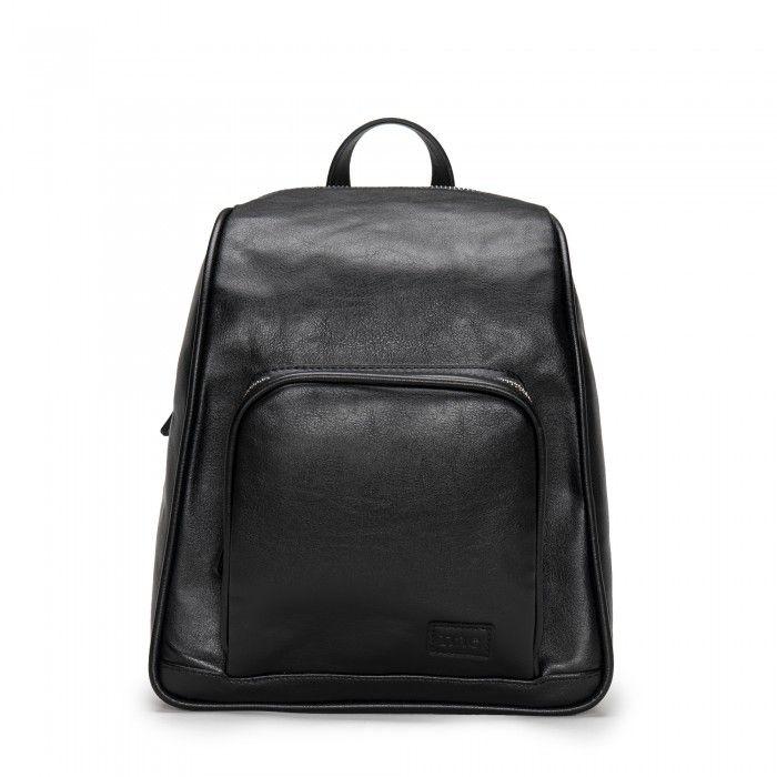 Leia mochila negra