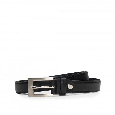Camp Black Microfiber Vegan Belt