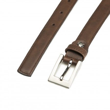 Camp Brown Microfiber Vegan Belt