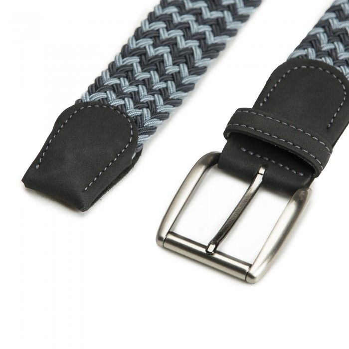 Prat Blue Braided Vegan Belt
