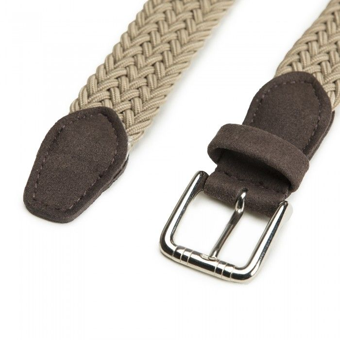 Vila Camel Braided  Vegan Belt