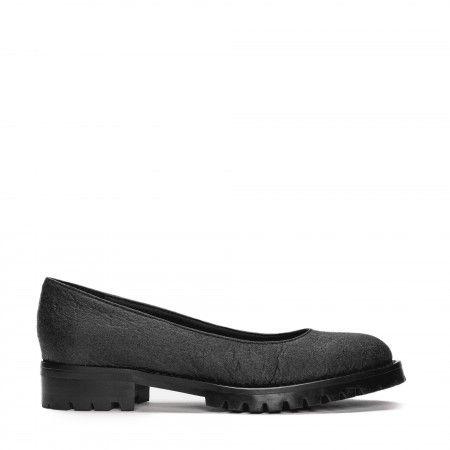 Lili Piñatex Black Vegan Shoes
