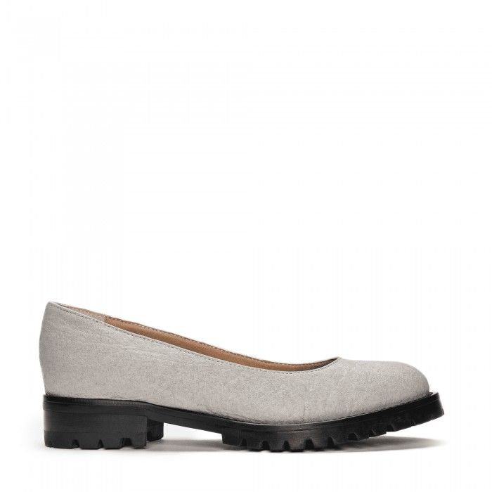 Lili Piñatex Grey Sapatos vegan