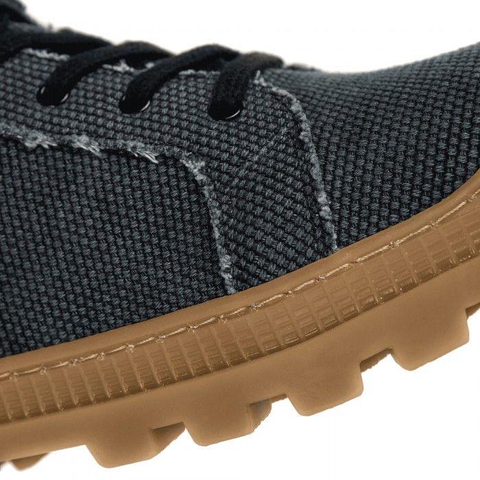 Noah Black Organic Cotton botas zapatilla veganas