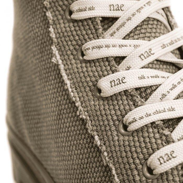 Noah Green Organic Cotton bottes chaussure de sport véganes