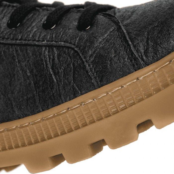 Noah Piñatex Black Ténis bota Vegan