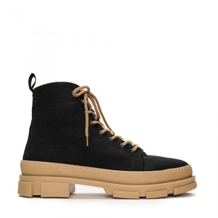 Maxi Organic Cotton vegan boots